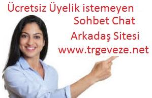 Ücretsiz Sohbet Chat Muhabbet Arkadaş Mobil Sohbet Sitesi